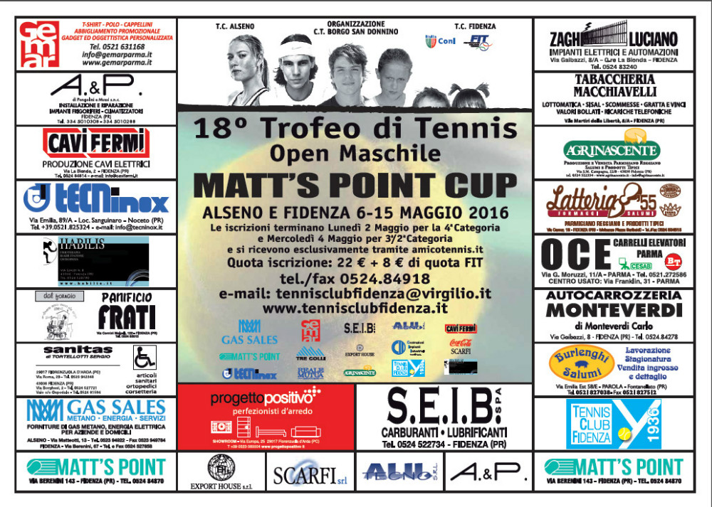 Matts Point Cup 2016